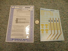 Microscale decals HO 87-714 Saskatchewan 4 bay cylindrical covered  hoppers   L4