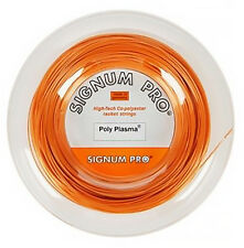Signum Pro - Poly Plasma 1.23mm Tennis String - 200m Reel - Free UK P&P