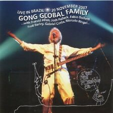 GONG GLOBAL FAMILY: Live in Brazil – 20 November 2007 VOICEPRINT CD Neu