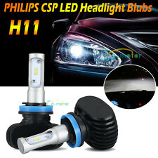 2PCS H11 H8 H9 180W 18000LM LED Headlight Bulbs Philips White 6500K Hot & Power
