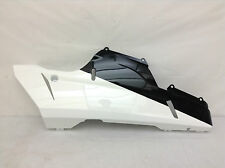 *NEW* DUCATI 1198S SUPERBIKE RIGHT LOWER HALF FAIRING COWL BLACK & WHITE (#80)