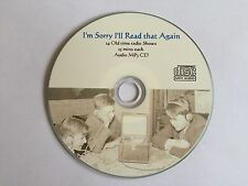 I'm Sorry I'll Read it Again 24 COMEDY Old Time Radio Shows on an MP3 CD