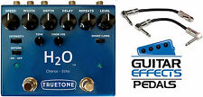 Truetone V3 H2O Liquid Chorus & Echo visual sound FREE US S&H! 2 FREE CABLES!!