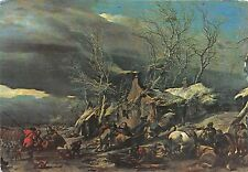 B22794 Romanian PPC Pieters Berchem Winter Landscape  painting