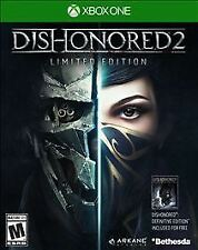 Dishonored 2: Limited Edition (Microsoft Xbox One) Brand New/Factory Sealed
