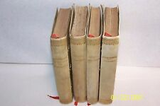 Trois Contes, Salammbo, Ramuntcho and Saint Antoine by Gustave Flaubert, 4 vols.