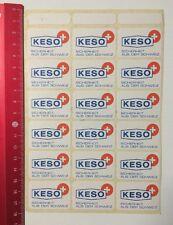 Aufkleber/Sticker: KESO - Sicherheit Aus Der Schweiz (060616172)