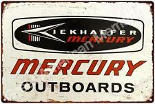 Kiekhaefer Mercury Outboard Motors Reproduction 12 x 18 Metal Sign 2181302