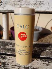 """Ancienne boite publicitaire """" Gibbs Talc , rasoir  """""""