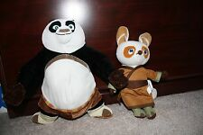 Kung Fu Panda stuffed animals Po and Shifu