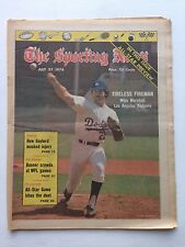 Sporting News Mike Marshall Dodgers July 27, 1974 very sharp no mailing label
