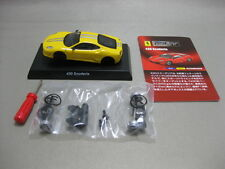 KYOSHO 1:64 430 Scuderia Yellow Assembly kit Ferrari Minicar Collection Ⅵ 2009