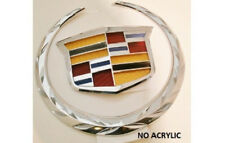 NEW!! Cadillac CTS 2012 Grille WREATH & CREST Emblem!!