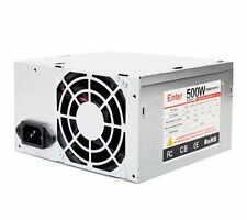 ENTER 500W SMPS (SATA +IDE) Desktop Power Supply SMPS with Company Warranty