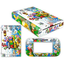 Vinyl Decal Cover Skin Stickers for Nintendo Wii U Console & Controller