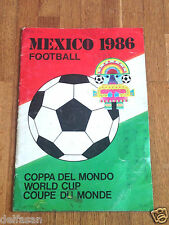Album figurine MEXICO 86 COMPLETE wc wm 1986 panini world cup munchen football