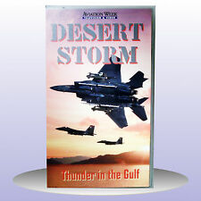 NEW - Desert Storm Thunder in The Gulf Aviation VHS PAL Video - Buy 1 Get 1 FREE