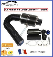 KIT ADMISSION DIRECT DYNAMIQUE CARBONE BOITE FILTRE A AIR MITSUBISHI PAJERO