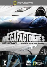 National Geographic: Megafactories - Euro Performance DVD New (Aust R4)