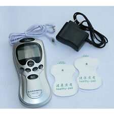 Electronic Pulse Digital Therapy Machine Set Back Full Body Massager Acupuncture