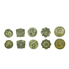Norse Foundry RPG Adventure Coins Variety Gold Piece Set of 10 Pirates Treasure