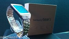 Samsung Galaxy Gear 2 Android Smart Watch SM-R380 Gold Stainless Steel Camera