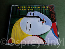 Kate Bush Larry Adler The Man I Love MINT Cd single with new case
