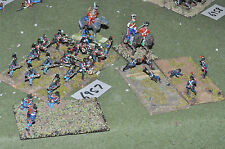 25mm mexican / american war mexican misc as photo (6957) metal painted