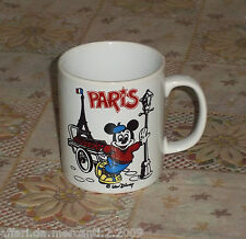 Tazza ceramica Walt Disney Mickey Mouse France Paris collection Coloroll England