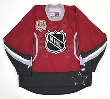 2002 NHL ALL-STAR GAME AUTOGRAPHED JERSEY WORLD TEAM HASEK LIDSTROM JAGR