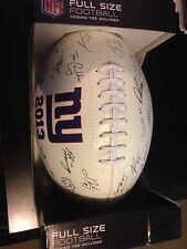 2013 NEW YORK GIANTS TEAM LASER SIGNED FOOTBALL - Brand New - NO RESERVE