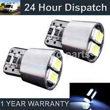 2X W5W T10 501 CANBUS ERROR FREE WHITE 4 LED NUMBER PLATE LIGHT BULBS NP101902