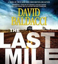 David Baldacci - The Last Mile - on MP3. Newest Thriller. Perfect to download.
