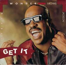 MICHAEL JACKSON STEVIE WONDER  Get It  rare 45 with PicSleeve