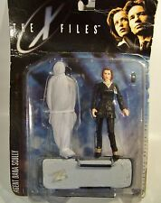 X-FILES AGENT SCULLY CHARACTER ACTION FIGURE TOY MIB w/CADAVER & GURNEY 1998