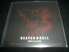 "Heaven and Hell Bible Black 7"" VInyl non lp song black sabbath Record Store Day+"