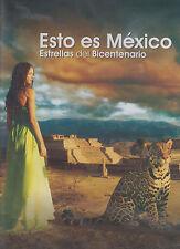 DVD - Esto Es Mexico NEW Strellas DEl Bicentenario FAST SHIPPING !