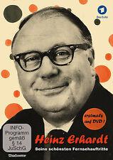 HEINZ ERHARDT 1959- 1971 SEINE SCHÖNSTEN FERNSEHAUFTRITTE Musik erklingt DVD Box