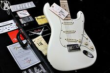 ✯SUBLIME✯ FENDER USA Custom Shop Pro Closet Relic' ✯Olympic White + Maple✯2006✯