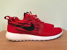 Nike Roshe Run HYP Hyperfuse size 11 Challenge Red Gym Red