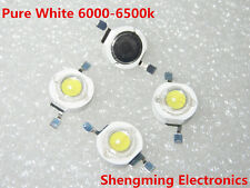 100PCS 1W High Power White LED Beads Lamp diodes