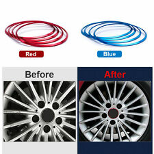 4PCS Car Wheel hub Cover Sticker Wheel Ring For BMW 1 X1 X3 X4 X5 X6