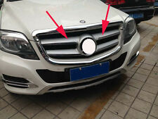 Front Grille Cover Trim for 2013-2015 Mercedes-Benz GLK Class GLK300 GLK350 4pcs