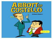 Abbott and Costello Cartoons  on  DVD's Volume One