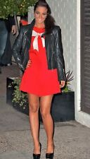BNWT Sugarhill Boutique Coral Embellished Bow Paris Night Evening Playsuit Med