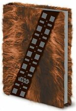 Officially Licensed Star Wars Chewbacca Fur Cover A5 Notebook SR71895