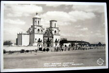 TUCSON AZ ~ 1940's SAN XAVIER MISSION FOUNDED IN 1692 ~ FRASHERS  RPPC