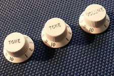 USA Fender ERIC JOHNSON Strat GUITAR KNOBS Tone Volume Stratocaster Guitar