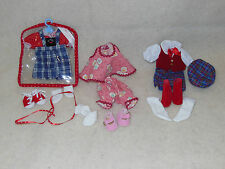 "Madame Alexander 8"" Doll Outfit Lot Tagged MINT for Wendy & Maggie"