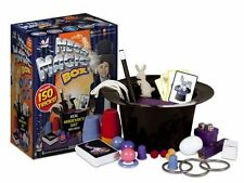 Deluxe Magic Box Real Magician Hat Grafix 150 Tricks Christmas Toy New Gift Set